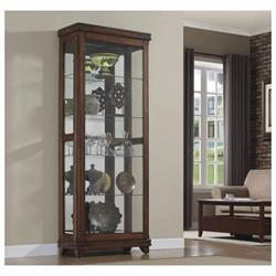 CURIO CABINET WITH GLASS SHELFS  CC30-9644-X332 Image